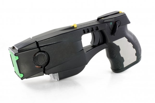 New research suggests Taser shocks can significantly impair a person's cognitive abilities. Photo by Kbiros/Shutterstock