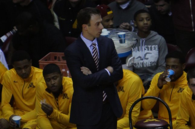 Ben Johnson replaces former Minnesota men's basketball coach Richard Pitino (pictured), who was fired last week. File Photo by TonyTheTiger/Wikimedia Commons