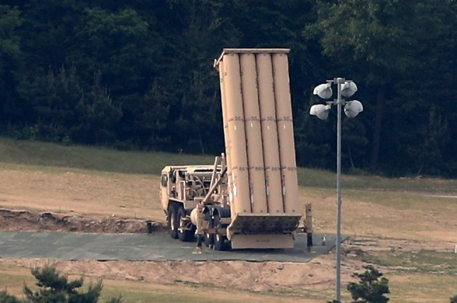 North Korea condemned the permanent deployment of the U.S. missile defense system THAAD on Wednesday. File Photo by Yonhap