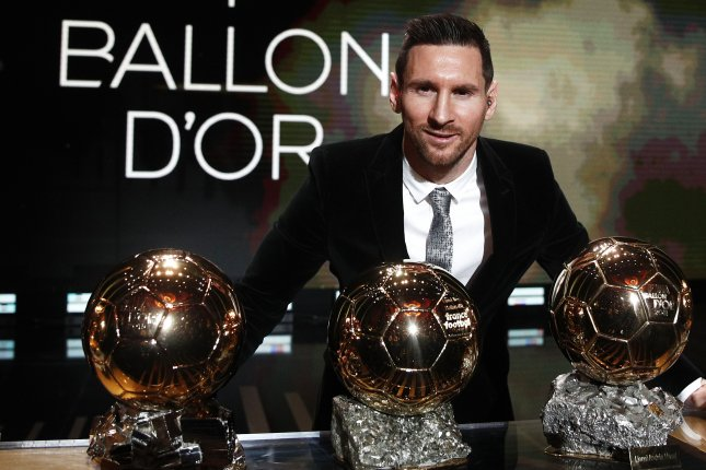 Lionel Messi was one of the favorites to win the 2020 Ballon d'Or trophy before the award was canceled on Monday. Photo by Yoan Valat/EPA-EFE