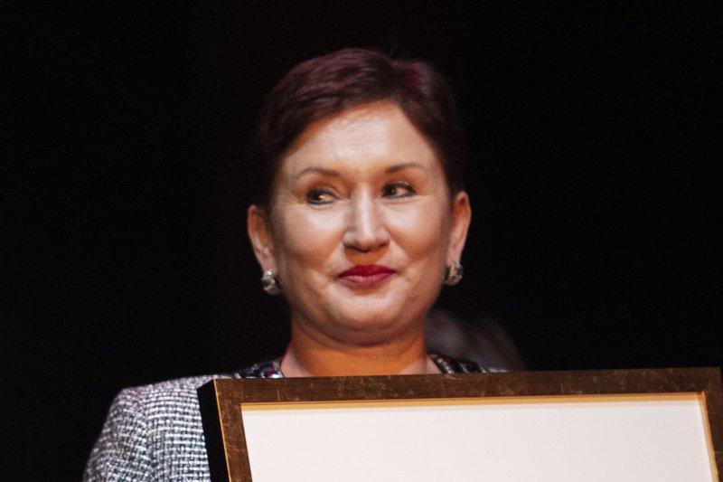 Thelma Aldana, seen in this 2018 file photo, faces arrest in Guatemala. File Photo by Meli Petersson Ellafi/EPA EFE