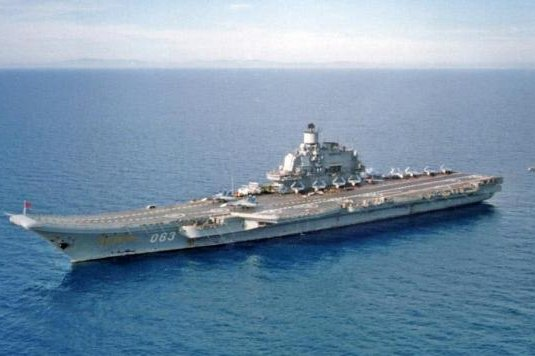 The blaze burned about 500 square meters of the aircraft carrier. File Photo courtesy U.S. Department of Defense