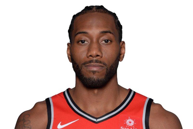 Toronto Raptors forward Kawhi Leonard. Photo courtesy of the NBA.