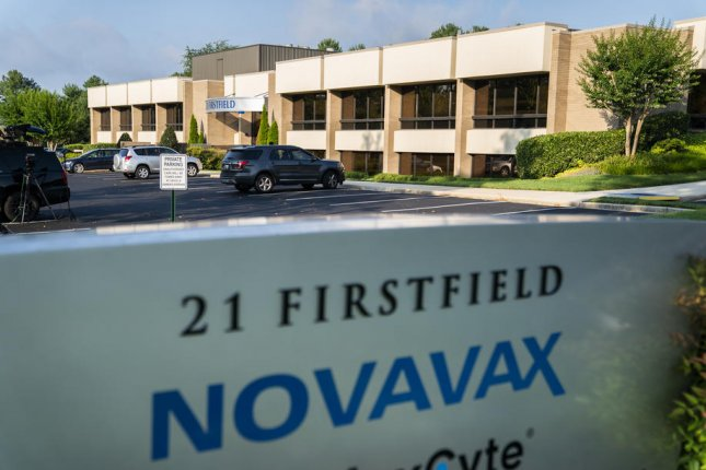 Maryland-based Novavax has a deal with the British government to provide 60 million doses of its potential coronavirus vaccine. File Photo by Jim Lo Scalzo/EPA-EFE