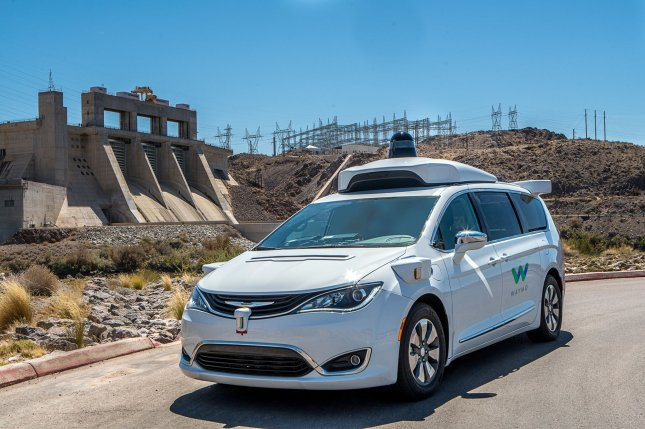 A Waymo (owned by Google) autonomous vehicle. Former Waymo engineer Anthony Levandowski was charged with 33 counts of trade-secret theft Tuesday. File Photo courtesy Waymo