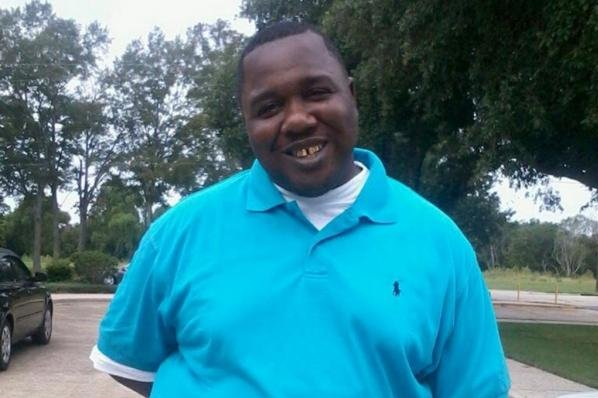 Blane Salamoni, the Baton Rouge, La., police officer who killed Alton Sterling, pictured, filed an appeal with a local civil service board. He said his firing was without cause. File Photo via Facebook