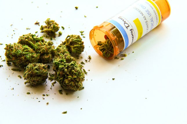 The latest federal spending bill includes language that legalizes medical marijuana. File Photo by UPI/Shutterstock/Atomazul.