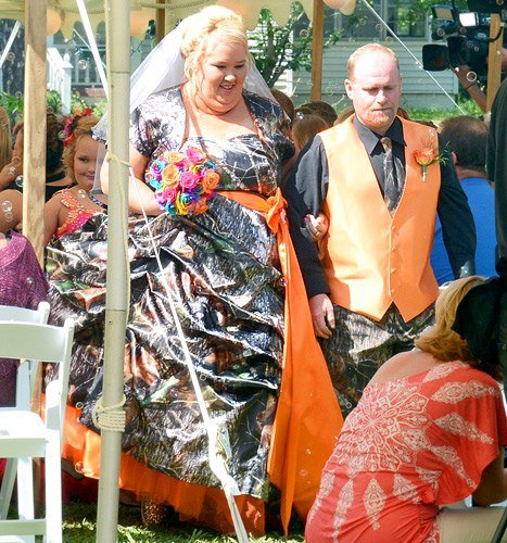 Mama June Shannon marries Mike Sugar Bear Thompson, father of Alana Honey Boo Boo Thompson. The family will soon be seen in the new reality show Mama June: From Not to Hot. File Photo: Mama June/Facebook