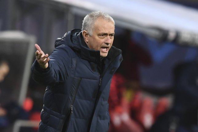 Manager Jose Mourinho and Tottenham Hotspur lost in the round of 16 at the 2019-2020 Champions League after Spurs finished second in the 2018-2019 Champions League. Photo by Filip Singer/EPA-EFE