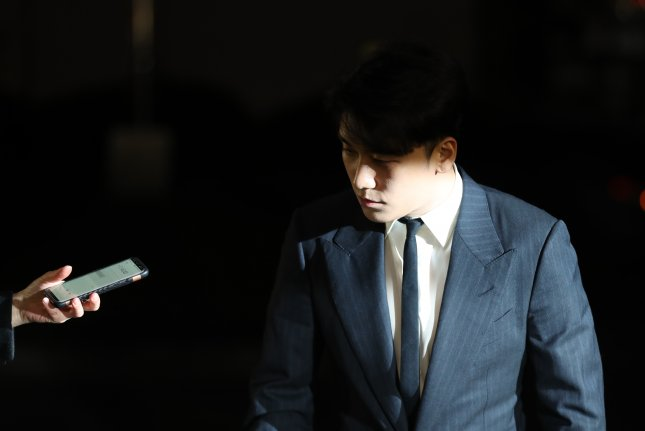 South Korean singer Seungri was charged with mobilizing special assault in connection with an altercation in December 2015 in southern Seoul, local reports said. File Photo by Yonhap