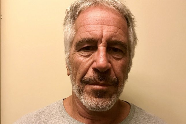 Jeffrey Epstein's death in a New York federal lockup is under investigation. Photo by New York State Division of Criminal Justice/EPA-EFE