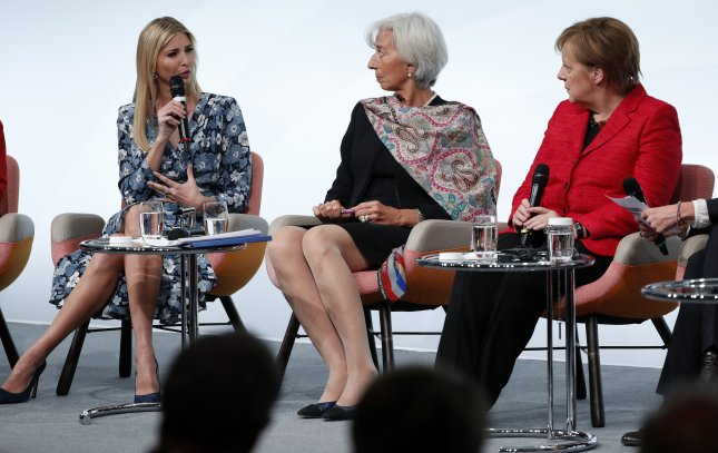 Ivanka Trump defends father at G20 women's summit