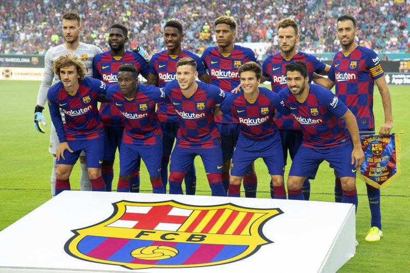 hot sales 7f401 cd655 Watch: Ivan Rakitic helps Barcelona beat Napoli in Miami ...