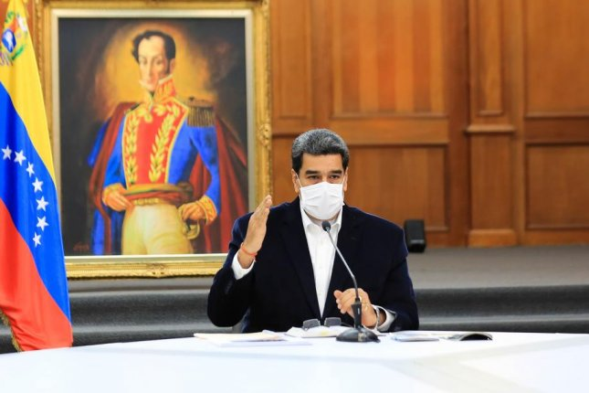 Desperate to restore one of his decaying oil refineries on Venezuela's northwestern coast, to prevent Venezuela from running out of gasoline altogether, President Nicolas Maduro sought help from his allies and dictatorial collaborators in Tehran. Photo courtesy of Miraflores Presidential Palace/EPA-EFE