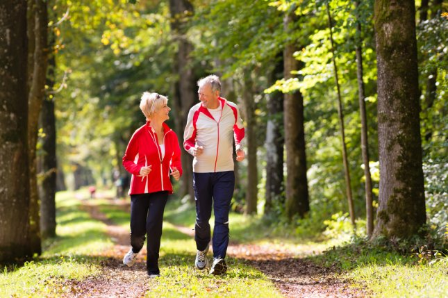 Just 30 minutes of daily walking can lower blood pressure for overweight or obese people between ages 55 and 80. Photo by Kzenon/Shutterstock