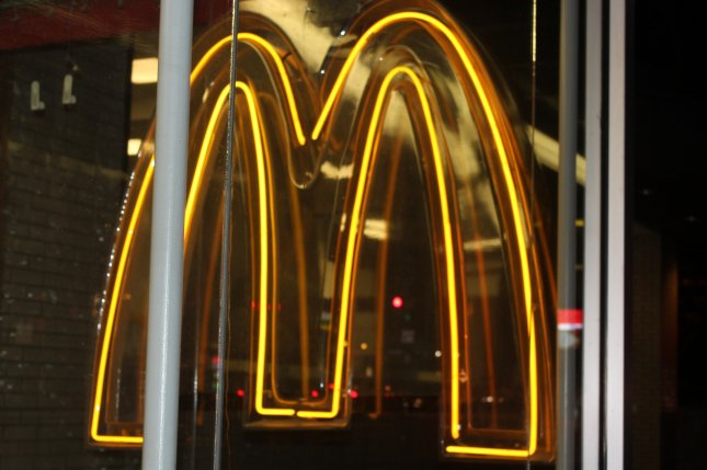 McDonald's has halted operation at three locations in Crimea. (File/UPI/Billie Jean Shaw)
