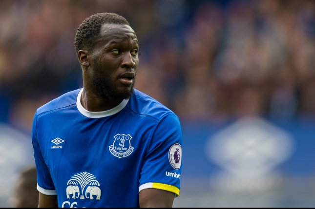 5af4771f102 Everton's Romelu Lukaku reacts during an English Premier League soccer  match between Everton and Chelsea held on April 30 at Goodison Park,  Liverpool, ...