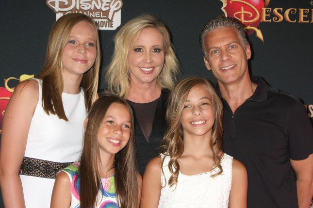Shannon Beador (C), pictured with David Beador and their daughters, gave an update on her divorce Monday. File Photo by Helga Esteb/Shutterstock