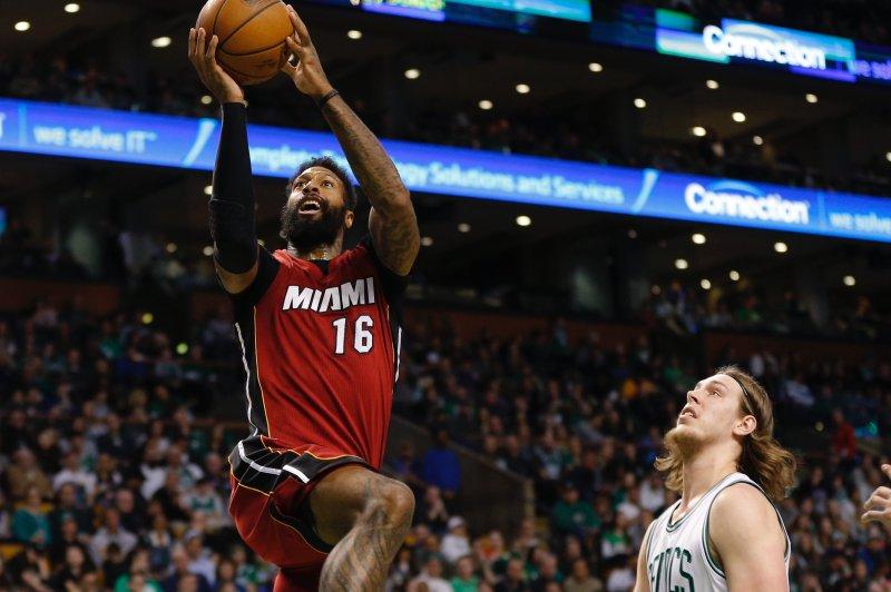 Miami Heat forward James Johnson. Photo by C.J. Gunther/EPA