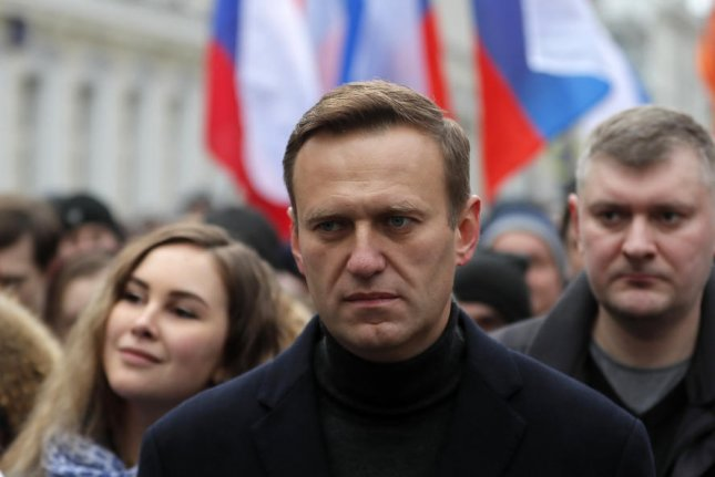 A Russian court on Wednesday designated the organizations of Kremlin critic and opposition leader Alexei Navalny as extremists groups. Photo by Yuri Kochetkov/EPA-EFE