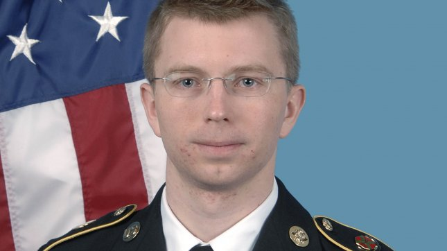 U.S. Army PFC Bradley Manning is seen in this undated U.S. Army file photo. Manning was convicted and sentenced to 35 years in a military prison on violations of the Espionage Act. UPI/File