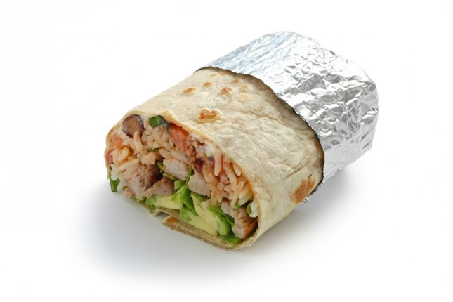 This burrito does not appear to contain heroin. Photo by bonchan/Shutterstock.com