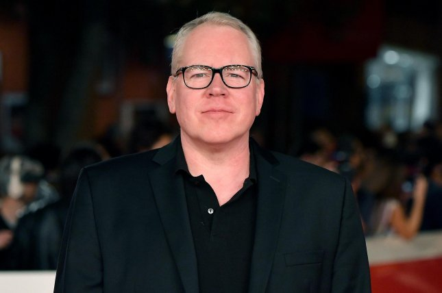 Bret Easton Ellis is developing a satire series about U.S. tabloid press culture with Irvine Welsh. File Photo by Ettore Ferrari/EPA-EFE
