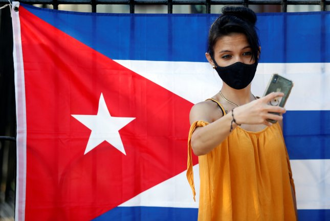 """North Korean state media said Thursday Pyongyang will """"make every effort"""" to strengthen ties with Cuba on the 35th anniversary of Fidel Castro's visit. File Photo by Ernesto Mastrascusa/EPA-EFE"""