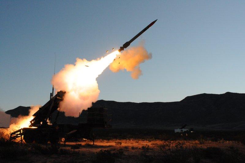 Lockheed Martin launches a test of the PAC-3 missile segment upgrade. Photo courtesy Lockheed Martin