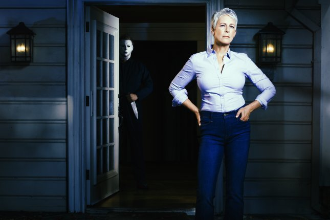 Jamie Lee Curtis returns to her iconic role as Laurie Strode in the new trailer for Halloween. Photo courtesy of Universal Pictures