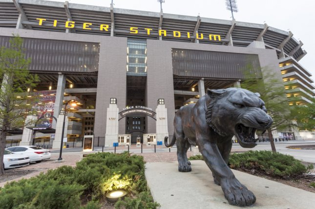 The LSU Tigers will host Southern on Sept. 10, 2022, and Grambling State on Sept. 9, 2023. File Photo by Philip Lange/Shutterstock