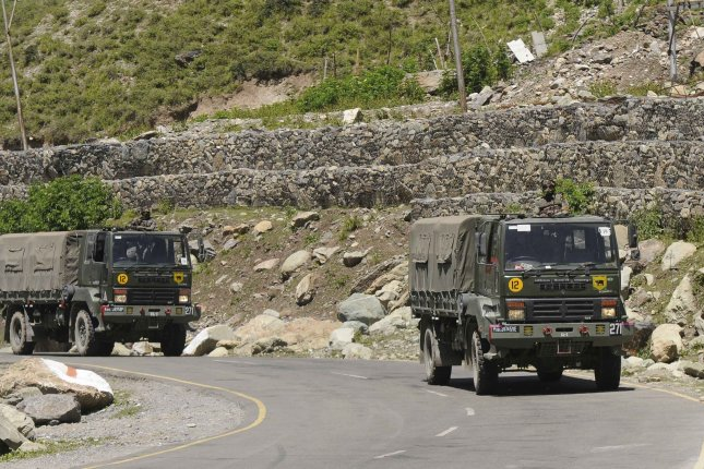India and China could be attempting to reduce tensions after India's military skirmished with Chinese troops in India's Ladakh region. Photo by EPA-EFE