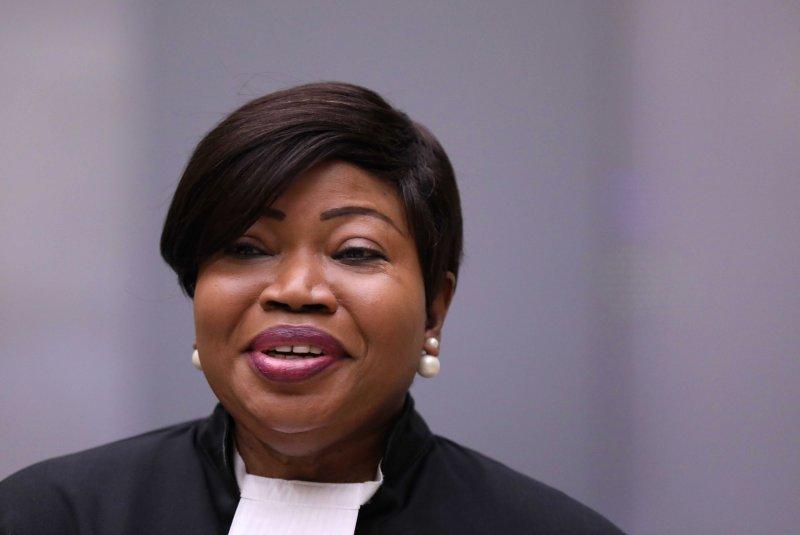 The United States on Wednesday imposed sanctions against ICC chief prosecutor Fatou Bensouda.File Photo by Eva Plevier/EPA-EFE