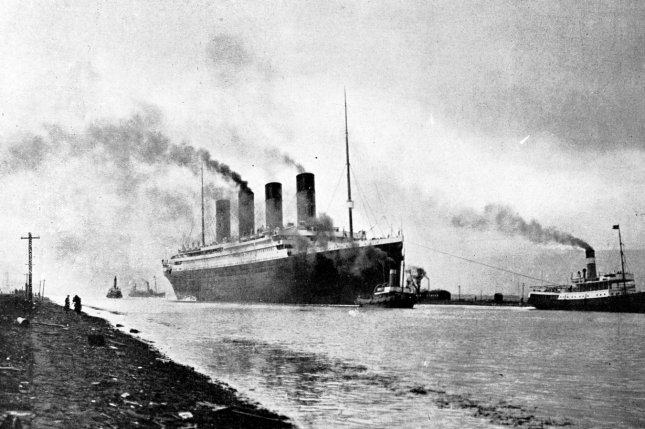 More than 1,400 people are believed to have died after the luxury passenger ship Titanic capsized in 1912. File Photo courtesy National Archives