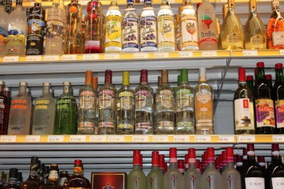 Bottles of liquor at a liquor store. File Photo by BIllie Jean Shaw/UPI