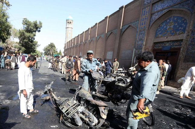 Explosion Rocks Great Mosque Of Herat City