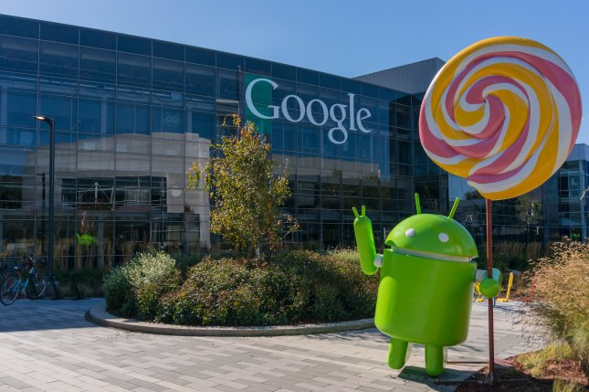 An Android robot is seen at Google headquarters in Mountain View, Calif. A new study by researchers at the University of Cambridge in Britain has concluded that nearly 90 percent of the world's Android devices are vulnerable to malicious malware attacks from apps. File photo by Asif Islam / Shutterstock