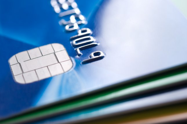 The chip in credit cards, which has been praised as a security feature that nearly eliminates counterfeiting, could be useless if credit card thieves manipulate the card's magnetic strip to make the chip seem nonexistent. File Photo by Tiramisu Studio/Shutterstock