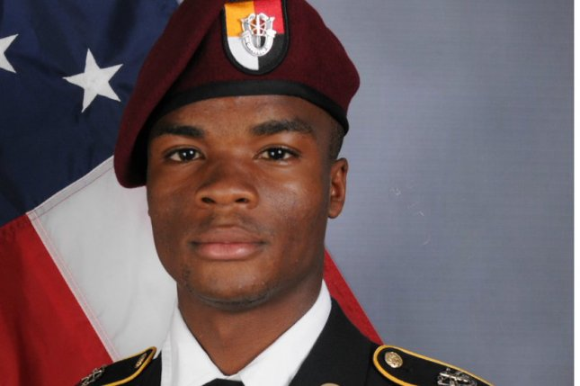 Military medical examiners said additional remains found a mile away from an ambush site in Niger belonged to Sgt. La David Johnson. File Photo courtesy the Department of Defense