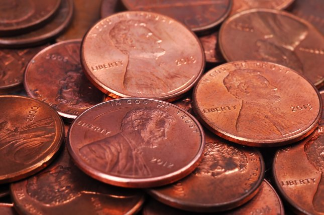 A pile of pennies. Photo by vetkit/Shutterstock.com