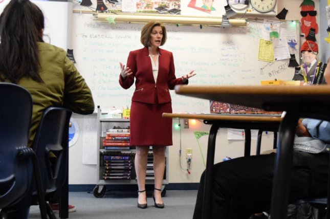 Former Nevada Attorney General Catherine Cortez Masto speaks at a campaign event during her bid to fill the United States Senate seat vacated by longtime Sen. Harry Reid. She is the projected winner in the Senate race. Photo courtesy of Catherine Cortez Masto for Senate