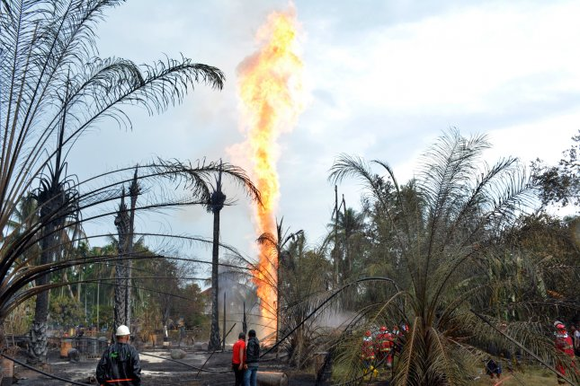Indonesia oil well fire: 10 killed, dozens injured