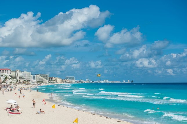 A 19-year-old man on spring break from Michigan, Ahmed Altaii, died from a balcony fall at a hotel in Cancun, Mexico, on Saturday night, authorities in the beachside resort said. Photo by javarman/Shutterstock