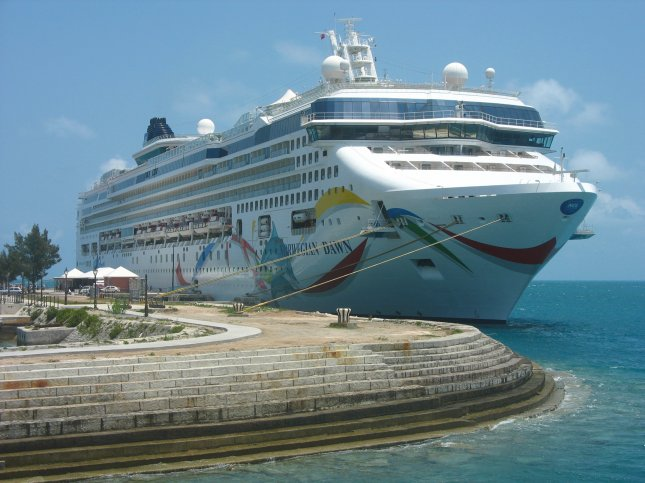The Norwegian Dawn cruise ship docked in Bermuda. File photo by Leonard Zhukovsky/Shutterstock