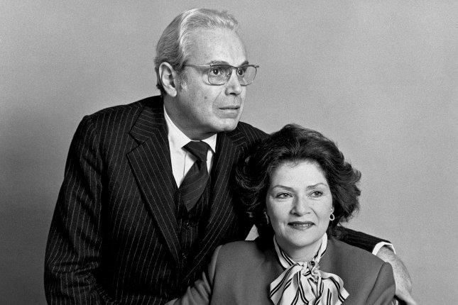 U.N. Secretary-General Javier Perez de Cuellar is seen with wife Marcela on January 1, 1982, at the start of his tenure in the post, which would last for 10 years. Photo courtesy John Isaac/United Nations