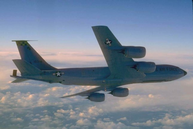 The KC-135 Stratotanker's primary mission is to refuel long-range bombers. It also provides aerial refueling support to Air Force, Navy, Marine Corps and allied aircraft. Depending on fuel storage configuration, the KC-135 can carry up to 83,000 pounds of cargo. Photo by Master Sgt. Dave Nolan/U.S. Air Force