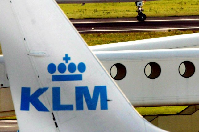 The Dutch government has bought a stake in the Air France-KLM group, the holding company for the two airlines. File Photo by Toussaint Kluiters/EPA-EFE