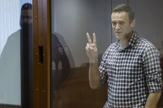 Alexei Navalny's family and lawyers said the government hasn't given them details on his transfer to a penal colony. File Photo by Yuri Kochetkov/EPA-EFE
