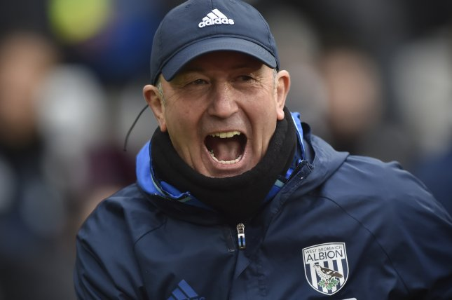 Former West Bromwich Albion coach Tony Pulis. Photo by Hannah McKay/EPA