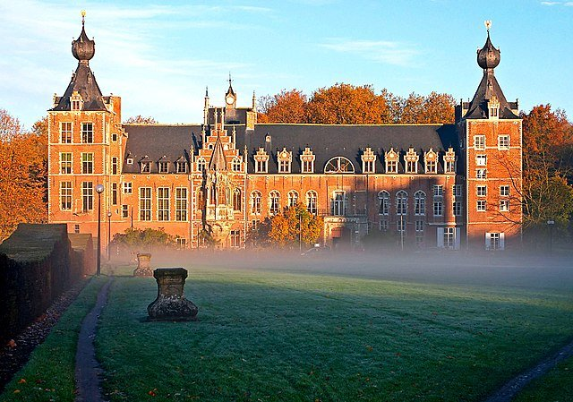 Castle Arenberg, part of the university in Leuven, Belgium, is shown. File Photo by Athenchen/Wikimedia Commons